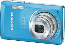Olympus Stylus 5010 / µ (mju) 5010 14.0 MP Digital Camera - Light blue