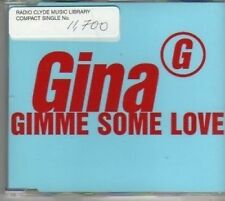 (BF235) Gina, Gimme Some Love - 1997 DJ CD