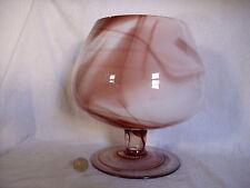 Vase Glas Schale Bonbonschale Anbietschale 70er Jahre 70ies Marmoreffekt Retro