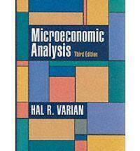 Microeconomic Analysis-ExLibrary