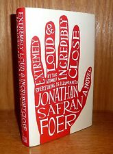 EXTREMELY LOUD & INCREDIBLY CLOSE by Jonathan Safran Foer TRU HB 1st!