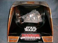 Snowspeeder Star Wars Ultra Titanium Series Die-Cast Hasbro 2006 New Sealed