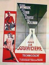 Affiche 120x160cm  DANS LA SOURICIÈRE /THE TRAP 1959 Richard Widmark (#)