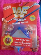 "NIP WF World Wrestling Federation Grudge Match Bret ""Hit Man"" Hart vs Stone Cold"