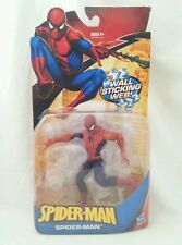 "Spider-Man Wall Sticking Web Spiderman 6"" Action Figure Marvel Legends Hasbro"