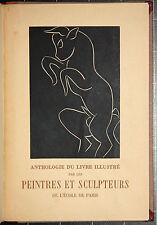 Anthologie du Livre illustré par les Peintres et Sculpteurs. Skira. 1944.