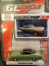 Greenlight MUSCLE  1968 Buick GS 400.    Ivory Gold Mist