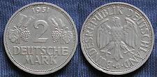 MONETA COIN GERMANY BUNDESREPUBLIK DEUTSCHLAND 2 MARK 1951 (G) - COPPER NICKEL