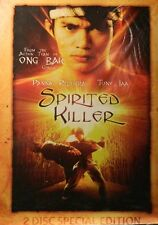 SPIRITED KILLER (1994) Two-Disc Special Edition Tony Jaa (His Film Debut) SEALED