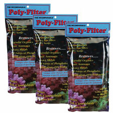 "3 PACK - BIO MARINE POLY FILTER FLOSS PAD 4 X 8"" - FRESH & SALTWATER AQUARIUMS"