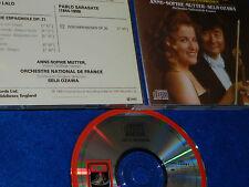 CD anne sophie MUTTER seiji OZAWA orchestre de france LALO Symphony Espagnole