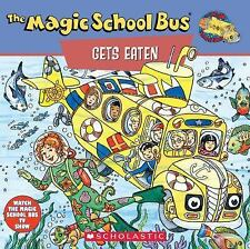 The Magic School Bus Gets Eaten: A Book About Food Chains-ExLibrary