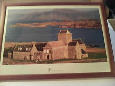 FRAMED MICHAEL MACGREGOR PHOTOGRAPH OF 'IONA ABBEY'