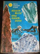 Erika Ziegler-Stege - Kluger Blitz und Adlerauge (gebunden, 1965)