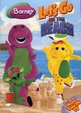 BARNEY LET'S GO TO THE BEACH New Sealed DVD