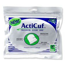 ActiCuf Compression Pouch for Male Urinary Incontinence; One Pack of 10 Pouches