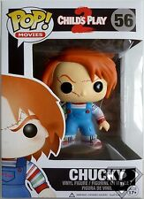 "CHUCKY Child's Play 2 Pop Movies 4"" inch Vinyl Figure #56 Funko 2014"