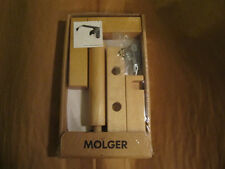 IKEA MOLGER bathroom toilet tissue roll paper holder wood.