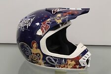 Thor SXT Series 2 Helmet Blue Motorcycle Snell Dot Approved 56 cm Size S