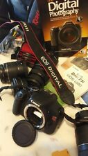 Canon Rebel T3i 18-55 mm Digital EOS 600D Camera with 4 lens