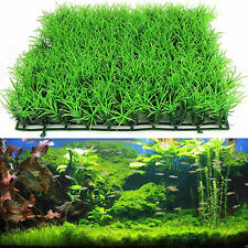 Aquarium Artificial Green Grass Lawn Plant Fish Tank Decorations Pet Supplies