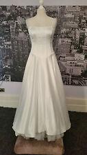 Pierce Fonda Gown (Off White) Ball, Prom, Wedding, Pageant, Black Tie etc