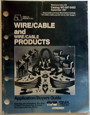 1987 Triple-A Specialty Co. Wire/Cable & Wire Cable ProductsWC-097-0453