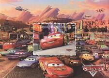 CARS PIXAR KIDS' MOVIE REPUBLIQUE DU BENIN 2011 MNH STAMP SHEETLET