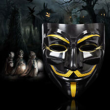 V for Vendetta Guy Fawkes Mask Custom Haloween Fancy Dress Anonymous Masks