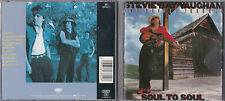 CD 10T STEVIE RAY VAUGHAN AND DOUBLE TROUBLE SOUL TO SOUL 1985