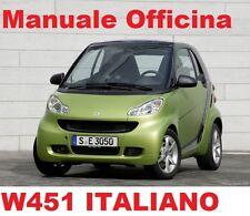 Smart (W451) (2004/2014) Manuale Officina Riparazione ITALIANO in PDF!!!