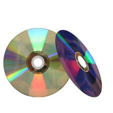 1000 16X Shiny Silver Top Blank DVD-R DVDR Disc Media 4.7GB 120Min Wholesale Lot