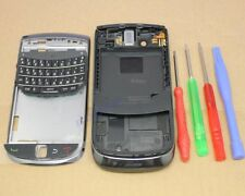 COQUE COMPLETE AZERTY CLAVIER ASSEMBLE CHASSIS FACADE BLACKBERRY TORCH 9800 NOIR