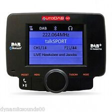 AutoDAB-GO Plug n Play Universal Car DAB Digital Radio Upgrade with Bluetooth