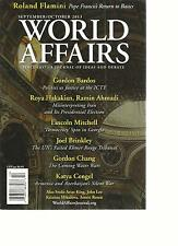 WORLD AFFAIRS, SEPTEMBER / OCTOBER,2013(SINCE 1837 A JOURNAL OF IDEAS AND DEBATE