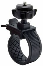 Bike Bicycle Roll Bar Zip-Tie Style Strap Action Camera Mount with Tripod Screw