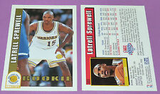 LATRELL SPREWELL GOLDEN STATE WARRIORS ROOKIE SKYBOX 1993 NBA BASKETBALL CARD