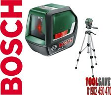 Bosch PLL2 Self Levelling Cross Line Laser with Tripod and Fix Angle Function