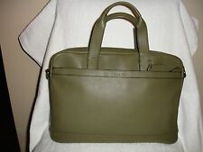 NWT COACH F71561 MAN'S HUDSON SMOOTH LEATHER Bag/Briefcase B75 IN SURPLUS