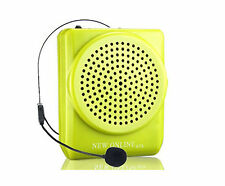 Portable Rechargeable Voice Amplifier Microphone Loudspeaker for Teaching Speech