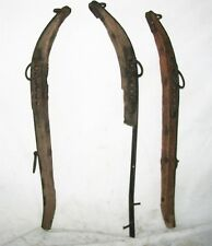 ANTIQUE MULE HORSE DRIVING PLOW WAGON HARNESS YOKE COLLARS MATCHING HAMES EXTRA