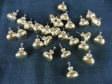 GOLD METAL KNOB DRAWER PULL ~ NEW ~ HOME DECOR Dresser Cabinet ~ Choose Quantity