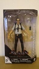 *BATMAN ARKHAM KNIGHT COMMISSIONER GORDON ACTION FIGURE ASYLUM CITY ORIGINS