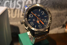 NEW in BOX Nixon 51-30 NAVY Chronograph Watch Free ship! Warranty!