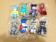new Medicom Series 26 100% Bearbrick Be@rbrick set of 8pcs Disney EVA figure