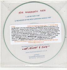 (ET750) The Miserable Rich, Let Me Fade - 2010 DJ CD