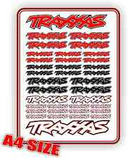 TRAXXAS STICKER DECAL SET REVO SUMMIT XO1 MINI REVO RUSTLER JATO BANDIT ETC