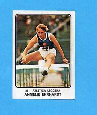 CAMPIONI dello SPORT 1973/74-Figurina n.26- EHRHARDT -ATLETICA LEGGERA-Rec