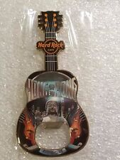 HONG KONG,Hard Rock Cafe,Magnet Guitar Bottle opener v16