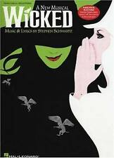 Acceptable, STEPHEN SCHWARTZ WICKED (PIANO/VOCAL SELECTIONS) PVG: A New Musical